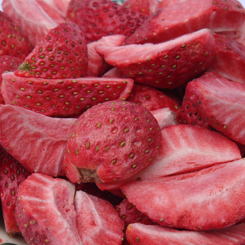 Freeze Drying Strawberries Freeze Dried Strawberry